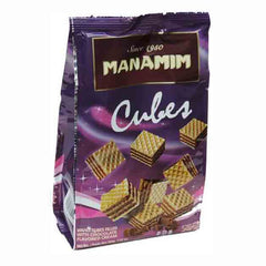 Manamim - Cubes, With Chocolate Flavored Cream.
