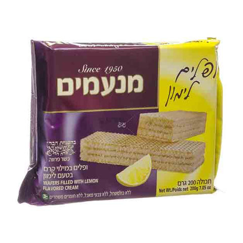 Manamim - Lemon Flavored Wafers