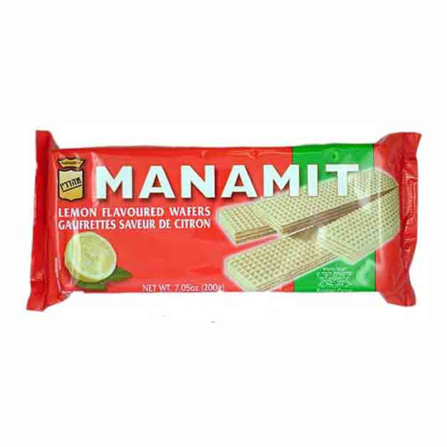 anamit Lemon Flavored Wafers 7.05 Oz