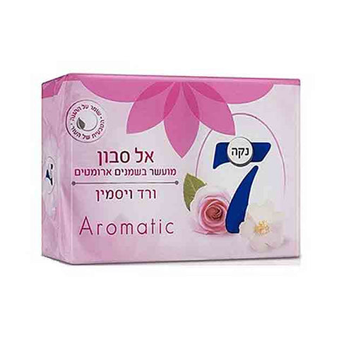 Neca 7 Solid Soap Aromatic Rose Jasmine 4pk