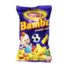 Osem - Bamba Snacks, Peanut Flavored. 1oz
