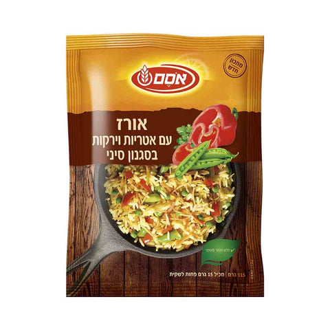 Osem - Chinese Style Rice And Noodles With Vegetables 115 g