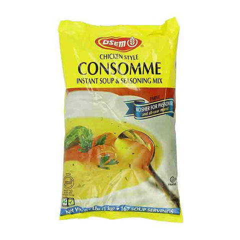 Osem - Consomme Soup & Seasoning Mix, Chicken Style, 2.2 Pound