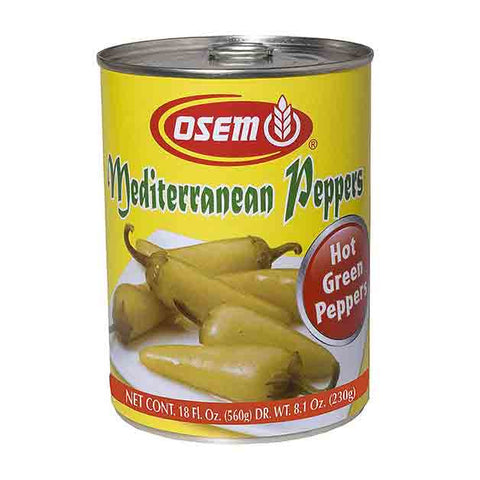 Osem - Hot Mediterranean Peppers