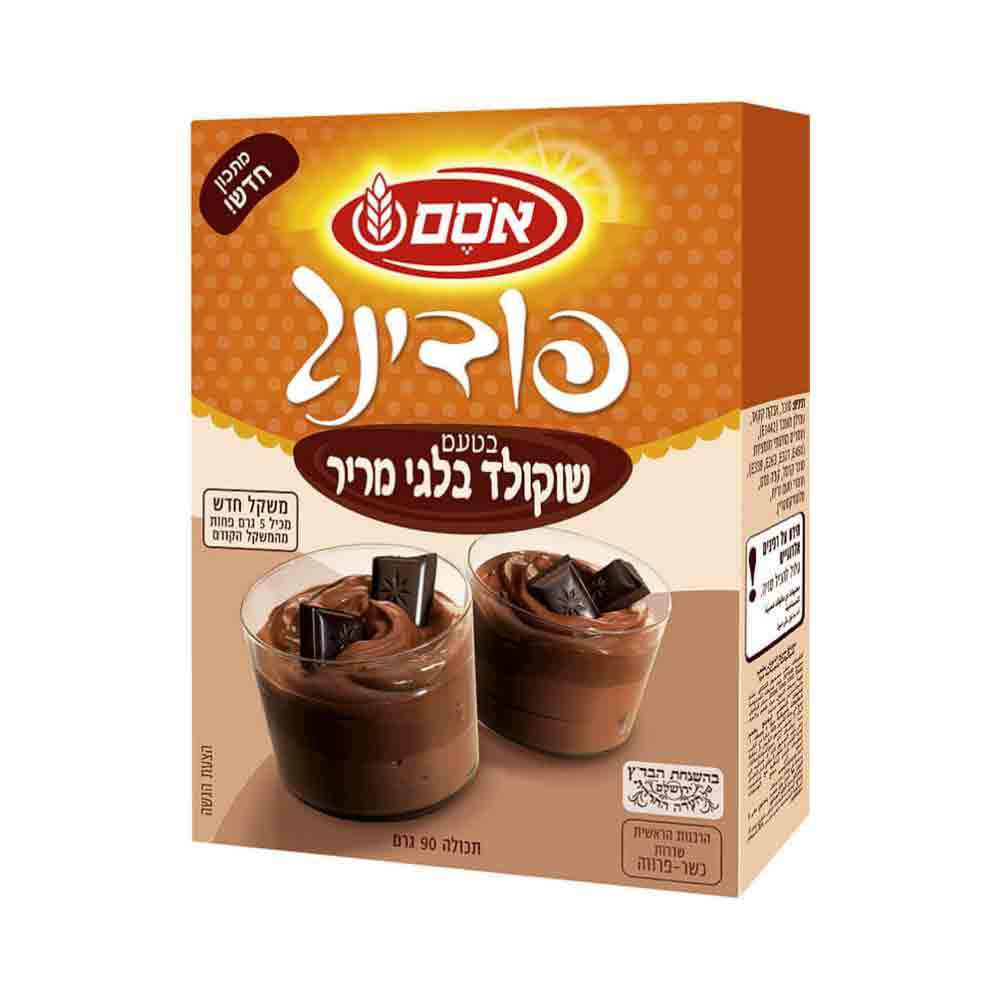 Osem - Instant Belgian Dark Chocolate Pudding Mix 3.17 oz