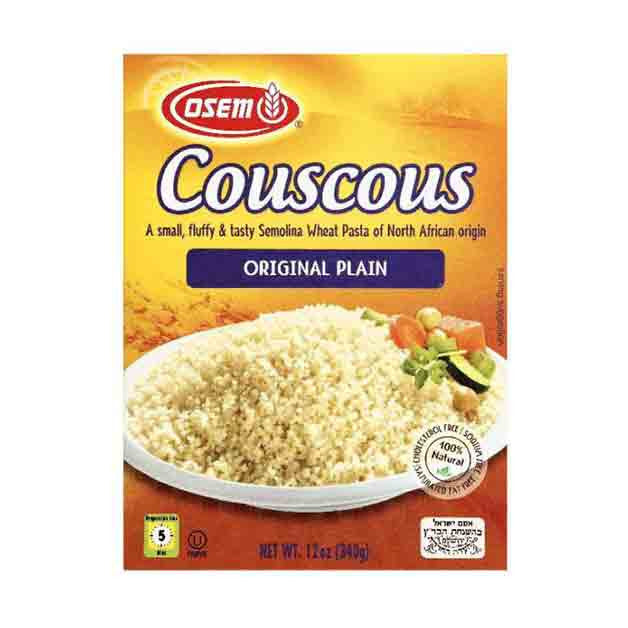 Couscous Plain Osem couscous north african 12 ounces box israeli supermarket osem couscous north african 12 ounces box sisterspd
