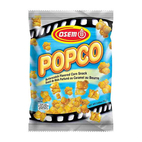 Osem - Popco, Corn Snack, Butterscotch (Kosher for Passover), 2.65 Ounce