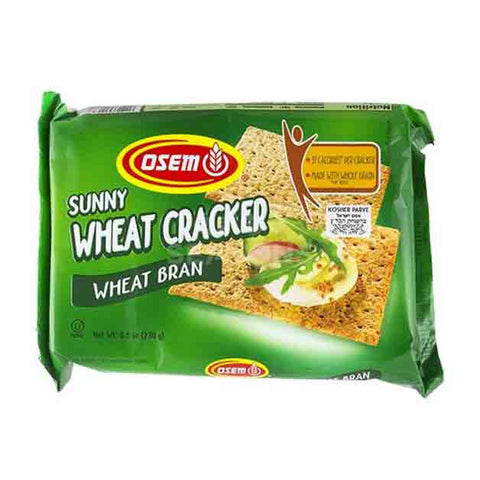 Osem - Sunny Wheat Crackers, Wheat Bran