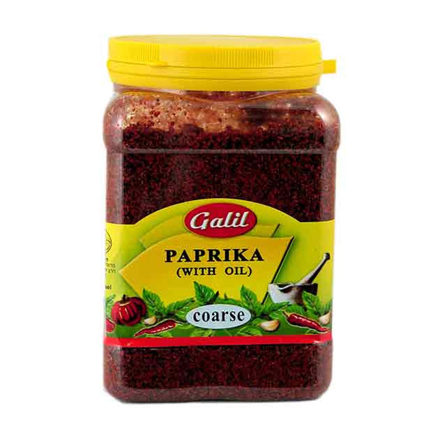 Galil Paprika with Oil, Coarse, 14 Ounce