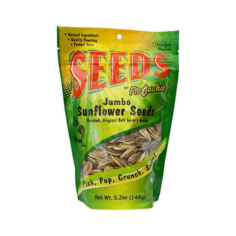Pistachio - Jumbo Sunflower Seeds, Original Salt Lover's Recipe