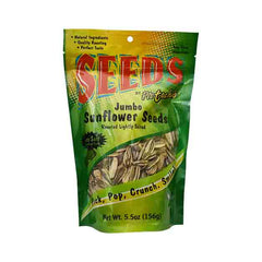 Pistachio - Jumbo Sunflower Seeds, Roasted Lightly Salted