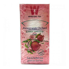 Wissotzky Pomegranate Orchard Tea / Box of 20 bags