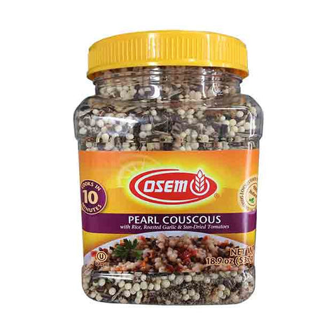 Osem - Pearl Couscous with Rice, Roasted Garlic & Sun-Dried Tomatoes