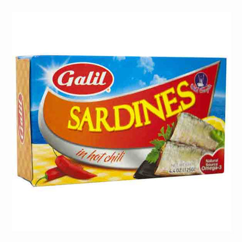 Galil Sardines In Hot Chili Sauce