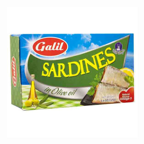 Galil Sardines In Olive Oil