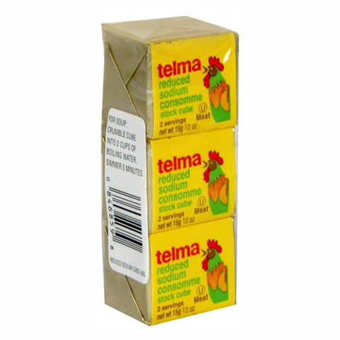 Telma Cubes Chicken Consomme Low Sodium