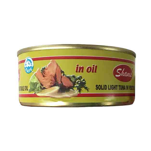 Shams Tuna in Vegetable Oil 55g