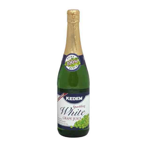 KEDEM - SPARKLING WHITE GRAPE JUICE - 750 ML