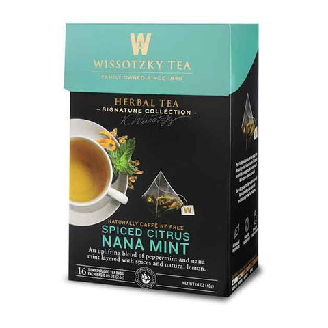 Wissotzky Spiced Citrus Nana Mint