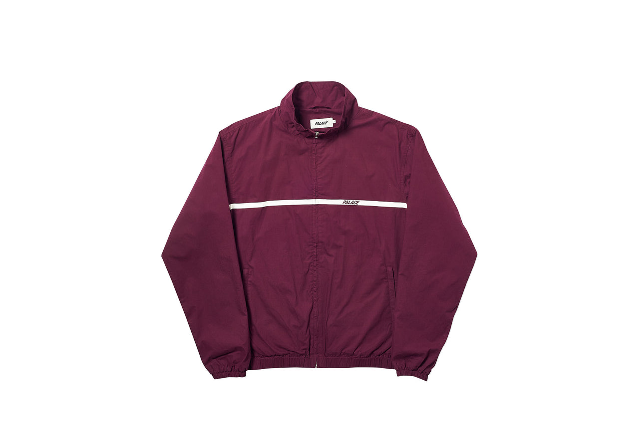 P-LINE COTTON JACKET PLUM
