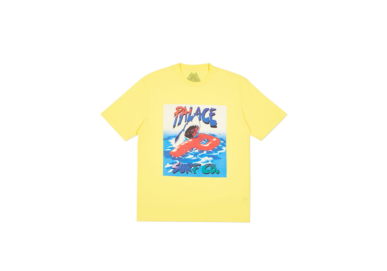 PALACE CO T-SHIRT LIGHT YELLOW