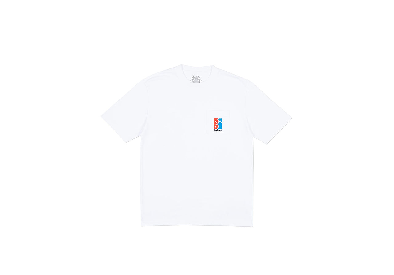 P(ISS) HEAD T-SHIRT WHITE