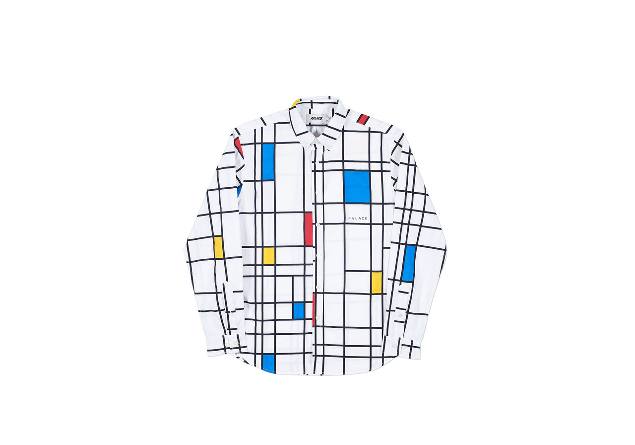 MONDO SHIRT WHITE / PRIMARY