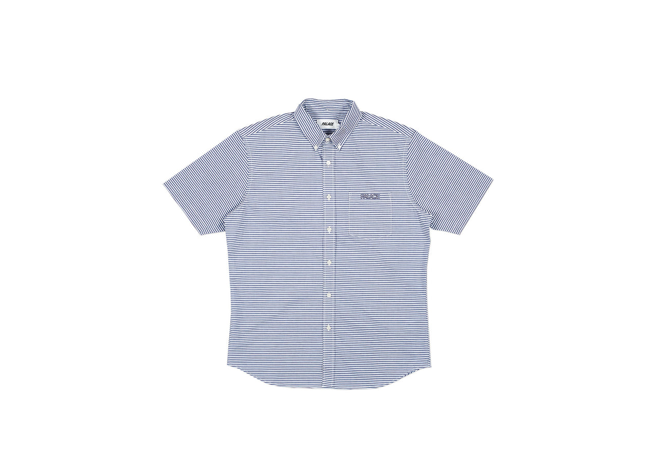 SERVICE SHORT SLEEVE SHIRT BLACK / WHITE