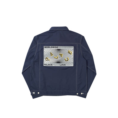 GRIDDLE SHELL JACKET NAVY