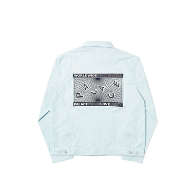 GRIDDLE SHELL JACKET LIGHT BLUE