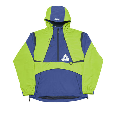 P-DURA SHELL TOP LIME / NAVY / BLACK