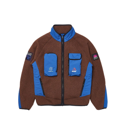 POLARTEC GO-GO JACKET BROWN