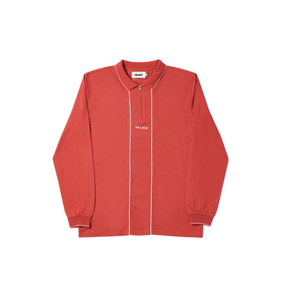 LINER LONGSLEEVE POLO RED