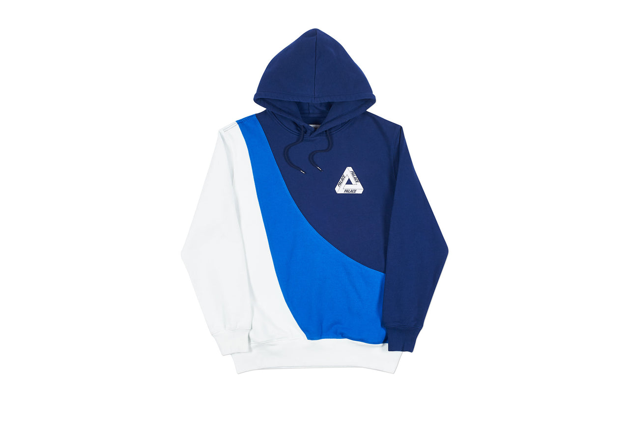 SWEEPER HOOD NAVY / BLUE / WHITE