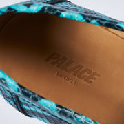 PALACE LOAFER BLUE SNAKE PRINT