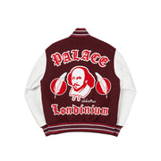 AS YOU LIKE IT VARSITY JACKET BURGUNDY