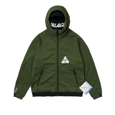 PALACE GORE-TEX MASKED SOFT SHELL JACKET GREEN