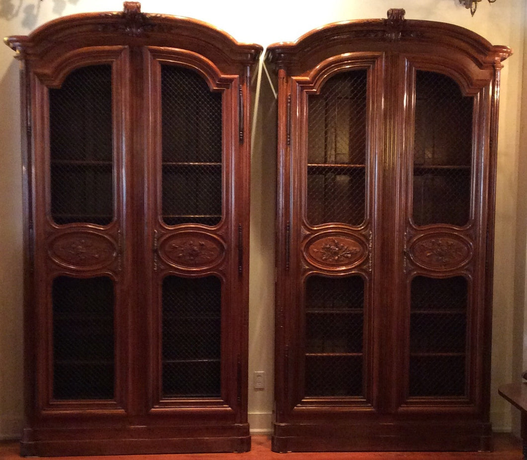 Pair Of French Bookcases 105