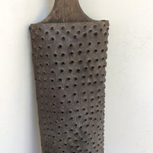 American folk art quality extra large tin and wood grater