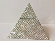 Mother of pearl pyramid storage box