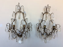 Set of Six French Style bronze Wall Sconces 21,12,7