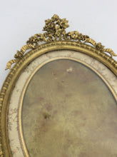 Stunning fine antique bronze frame