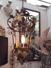 Pair of vintage Italian lanterns