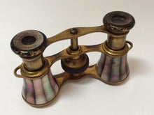 Pair Of French opera glasses in mother of pearl