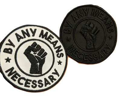 By Any Means Iron-On Patch