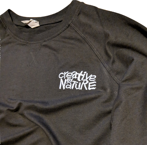 Creative By Nature Embroidered Sweatshirt