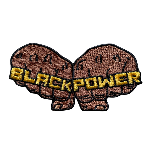 Power Fist Iron-On Patch