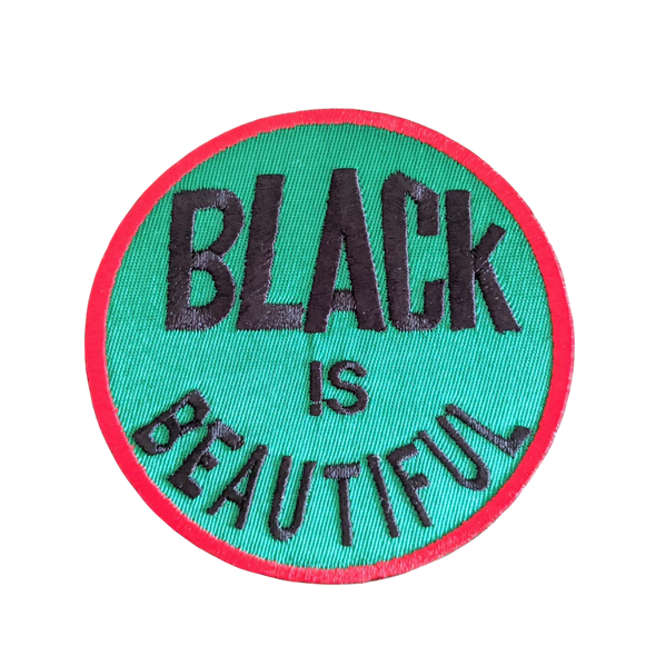 Black is Beautiful Iron-On Patch
