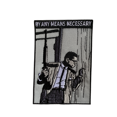 By Any Means Malcolm Iron-On Patch