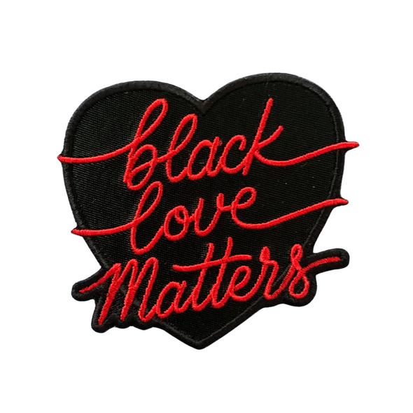 Black Love Matters Iron-On Patch
